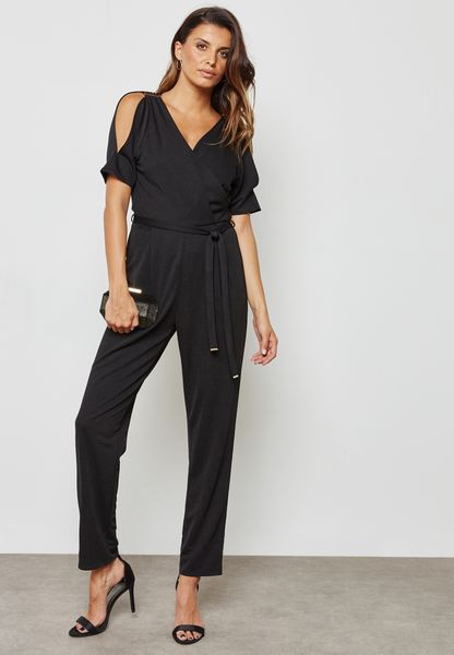 Wrap Detail Jumpsuit