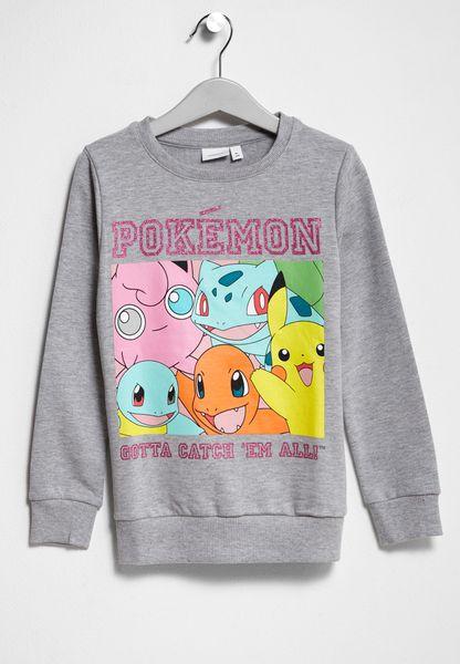Little Pokemon Nadia Sweatshirt