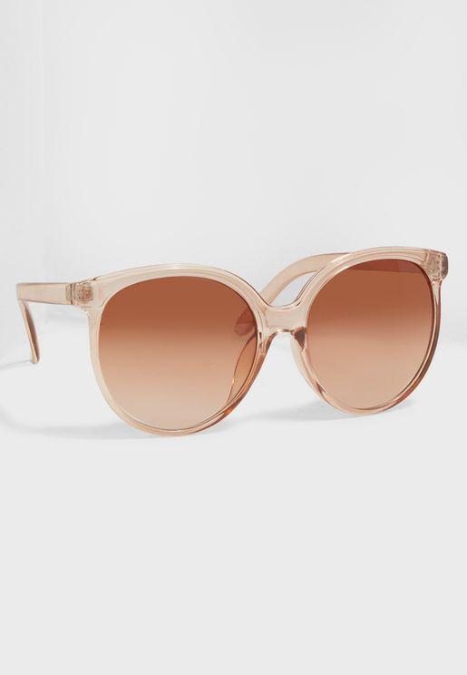 Translucent Round Sunglasses