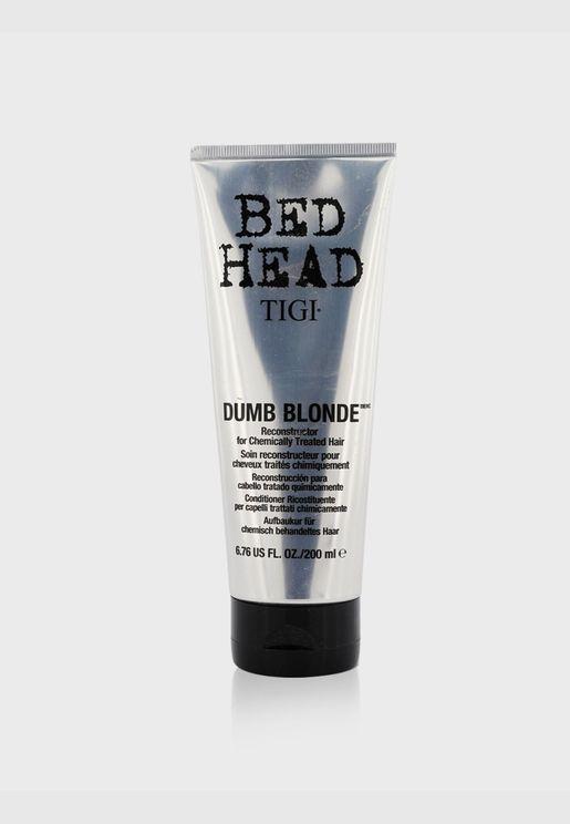 Bed Head Dumb معيد بناء الشعر الأشقر (للشعر المعالج كيمائيا)