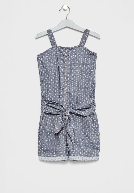 Little Front Twisted Playsuit