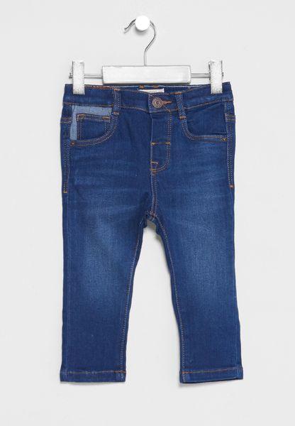 Infant Woven Jeans