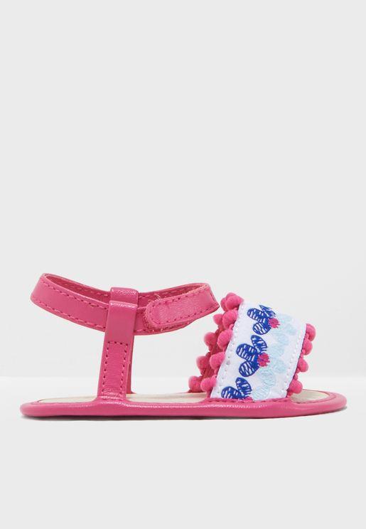 Infant Floral Sandal
