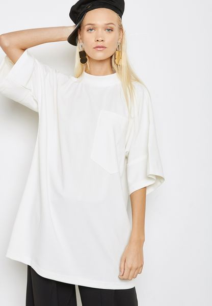 Clean Pocket T-Shirt Dress