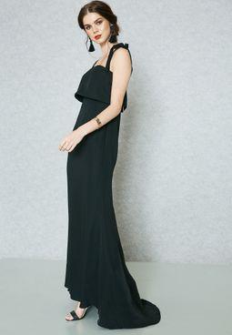 Bardot Layered Maxi Dress