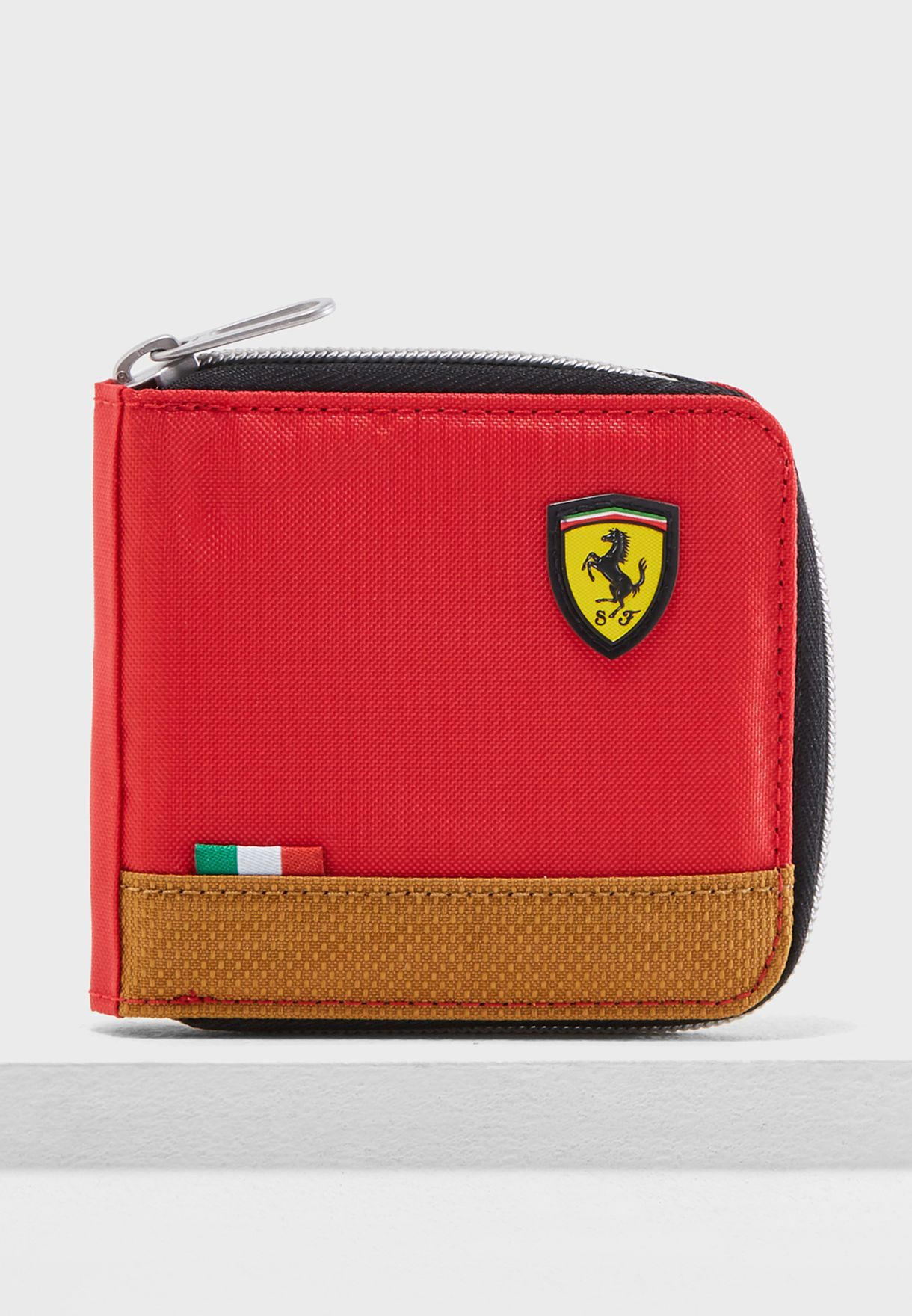 1c7eed15df Shop PUMA red Ferrari Fanwear Wallet 5347001 for Men in UAE ...