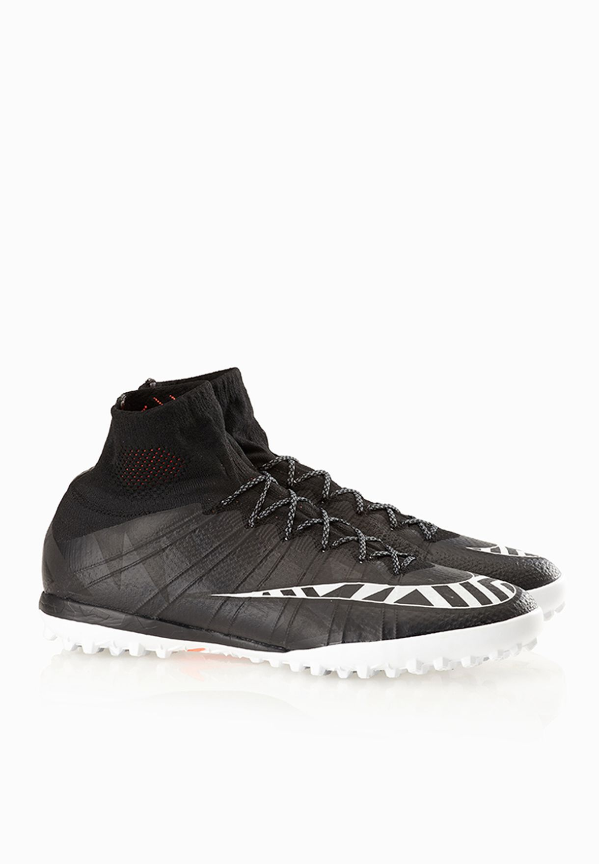 43f6a5aa59270 Shop Nike black Mercurialx Proximo Street TF 718777-018 for Men in ...