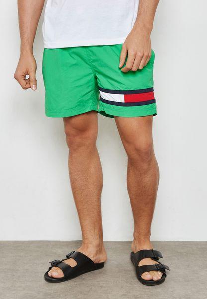 Drawstring Logo Shorts