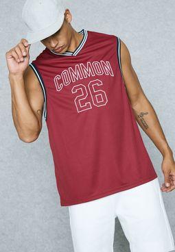 26 Print Basketball Vest