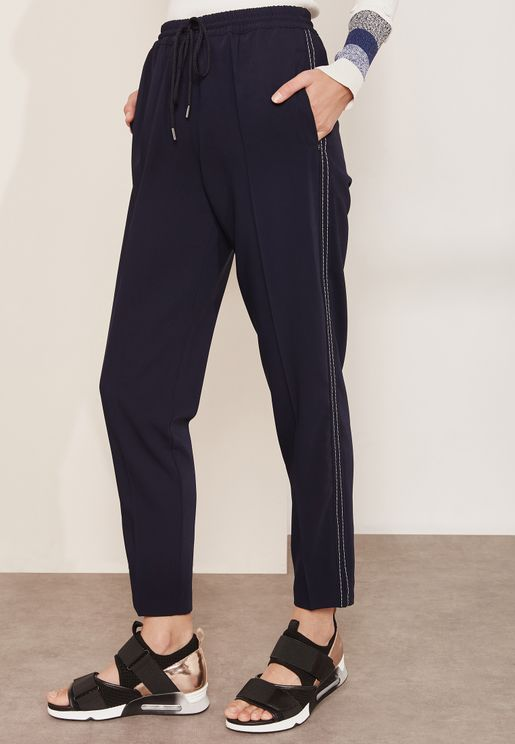Aire High Waist Ankle Grazer Pants