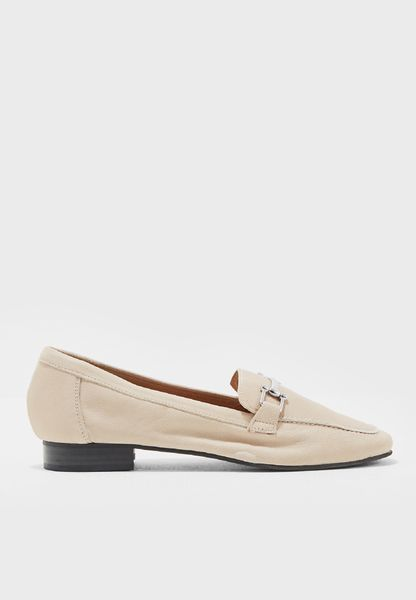 Korgi Loafer With Metal Trim