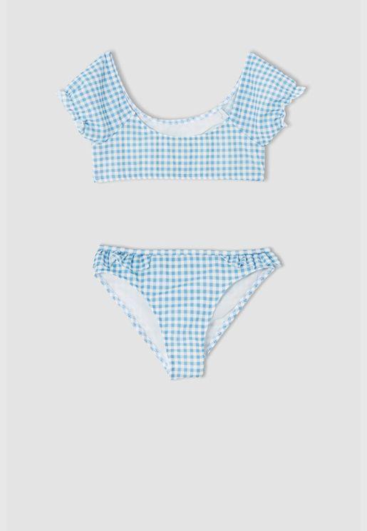 Girl Woven Bikini
