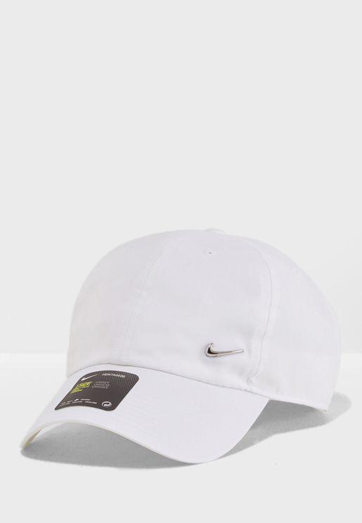 6110850b8bd H86 Metal Swoosh Cap. Nike