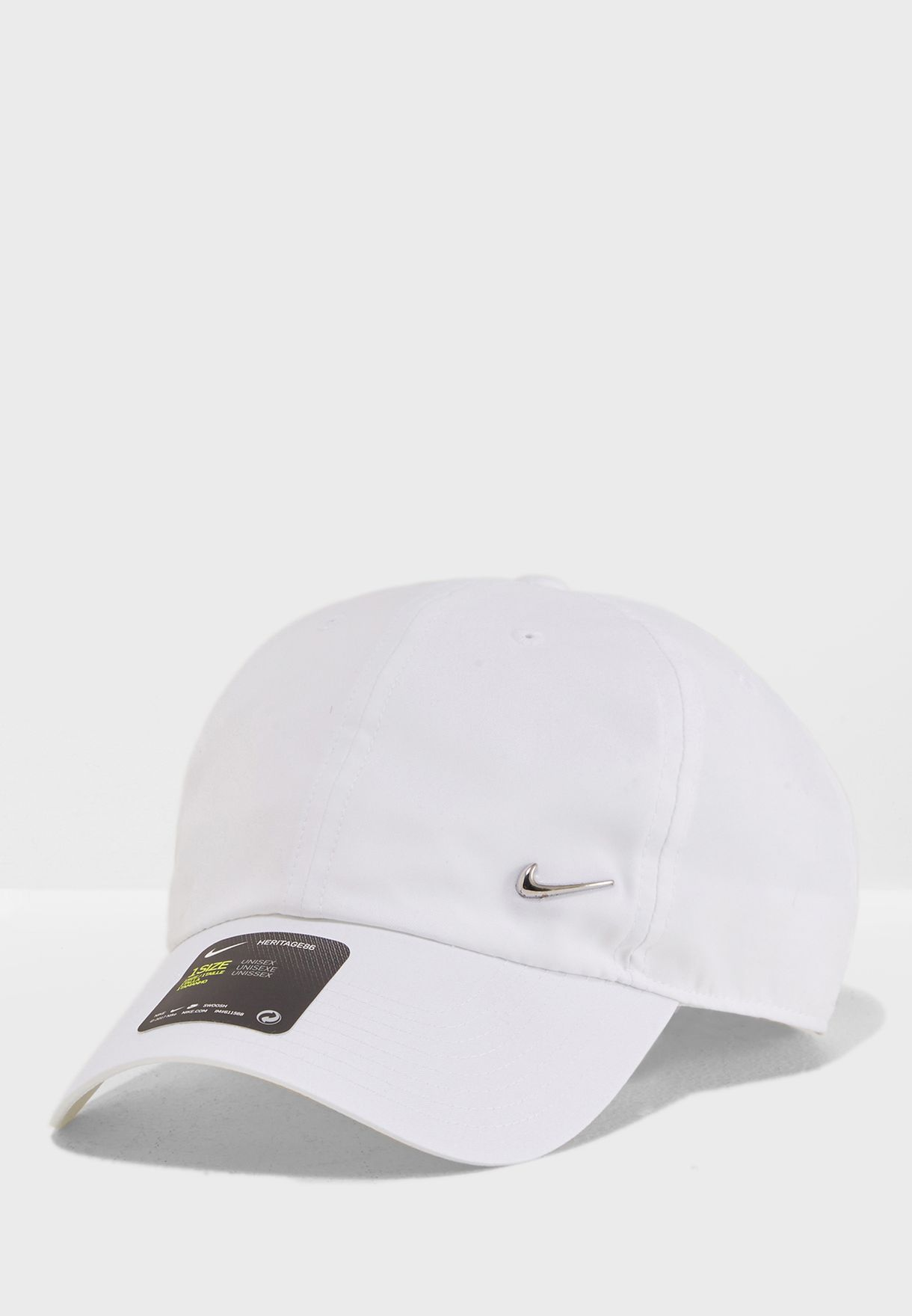 Shop Nike white H86 Metal Swoosh Cap 943092-100 for Men in Saudi -  NI727AC38ZAR f5f3ce3452b