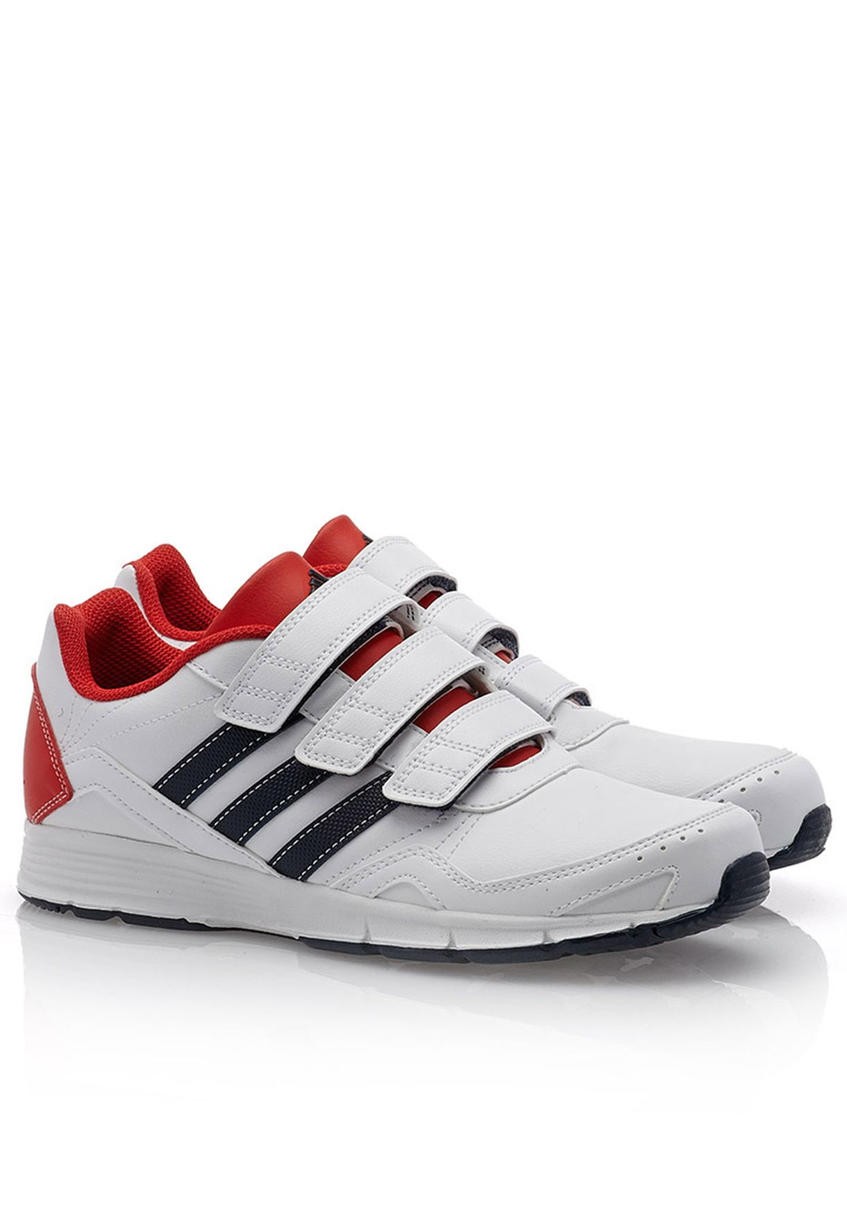 differently 06981 e1848 Shop adidas white Cleaser 2 CF Sneakers D65327 for Kids in Saudi -  AD476SH38RYR