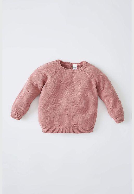 BabyGirl Regular Fit Pullover