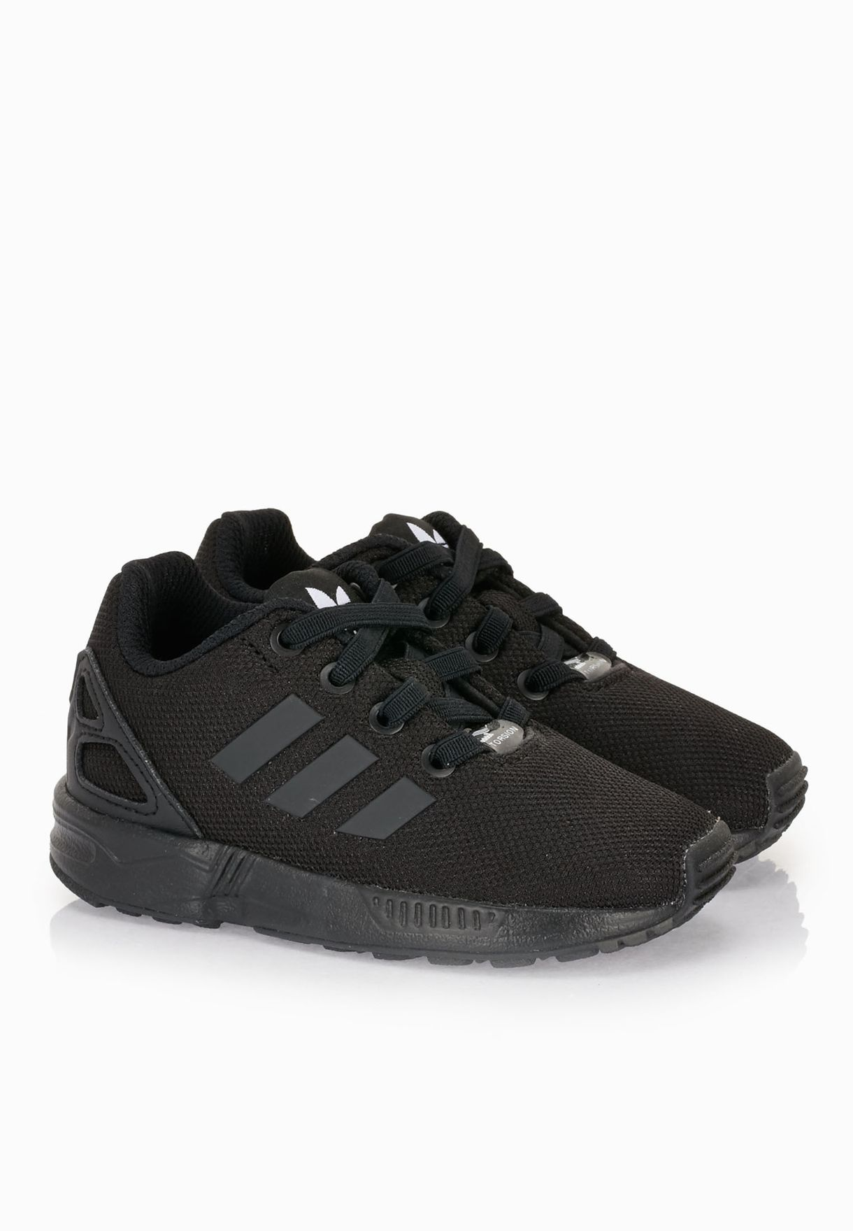 5b2ca125d50d Shop adidas Originals black Zx Flux Infant AF6260 for Kids in Oman ...