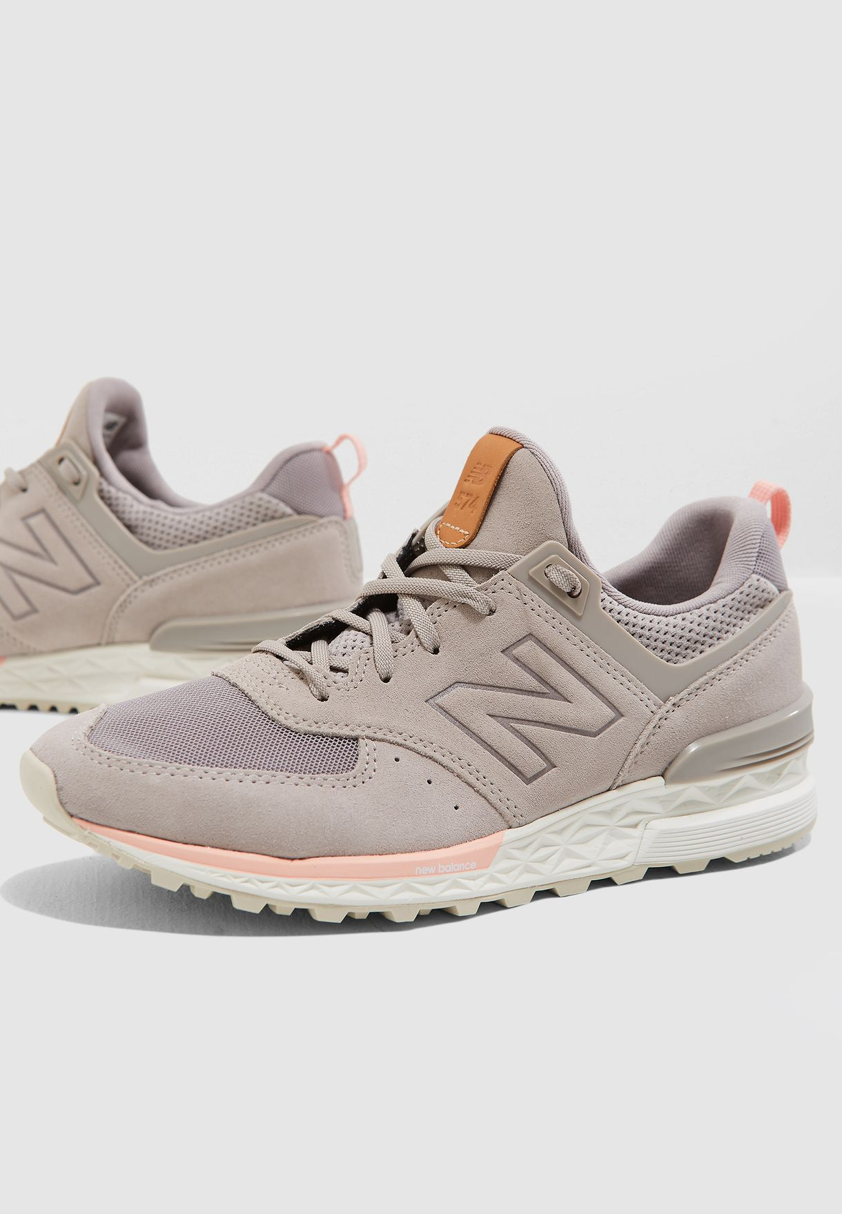 pretty nice 7c098 35d08 Shop New Balance grey 574 Sport WS574PMC for Women in UAE - NE011SH38OZX