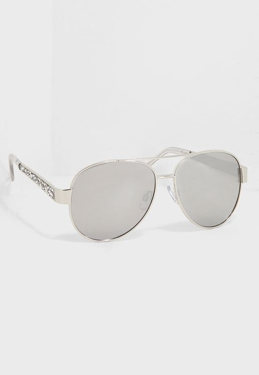 Bling Aviator Sunglasses