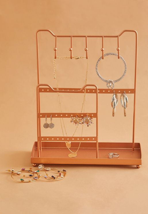 Wire Jewellery Stand