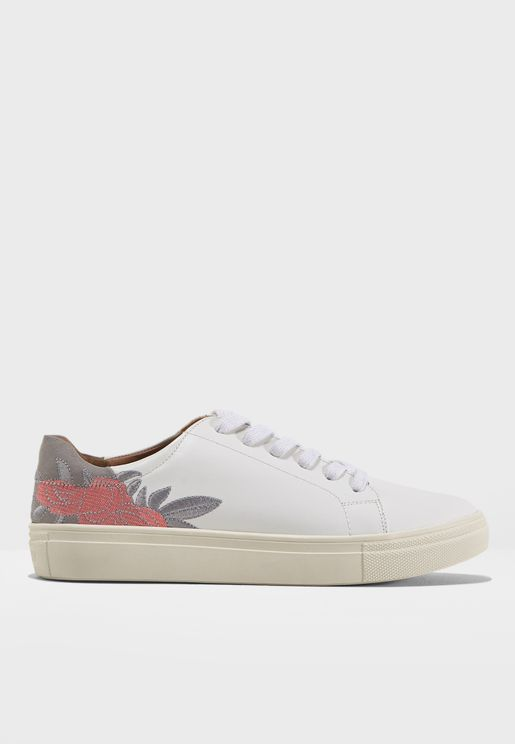 Sage Flower Sneaker