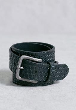 Weave Embossed Belt
