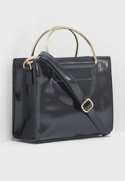 Patent Metal Handle Tote