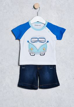 Infant T-Shirt+ Shorts