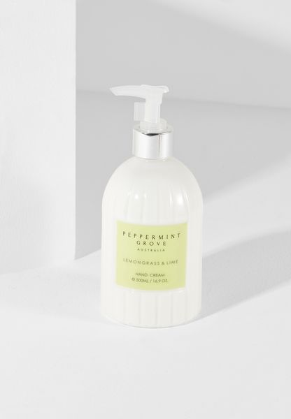 Lemongrass & Lime Hand Cream Pump