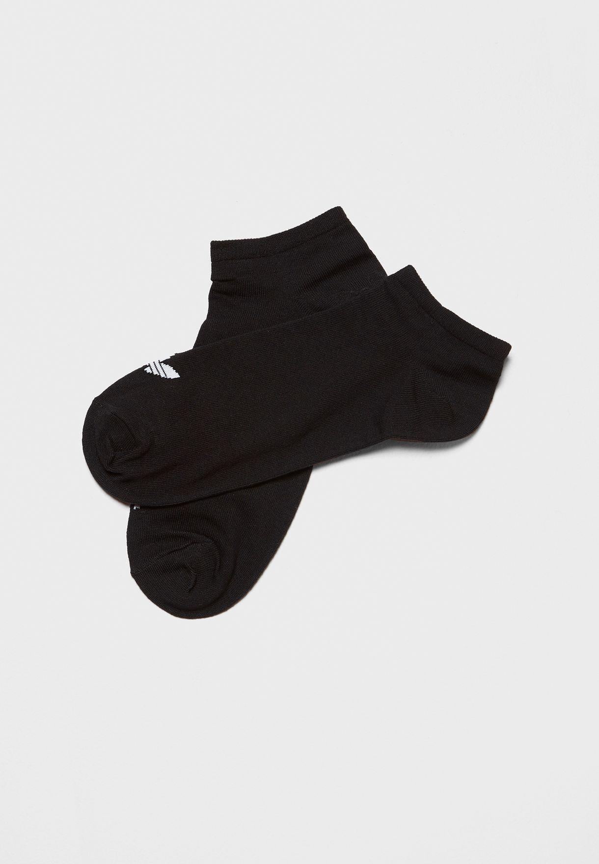3 Pack Trefoil Liner Adicolor Casual Unisex No Show Socks