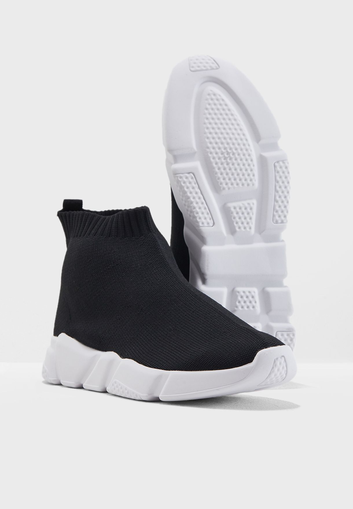 Knitted Sneaker Boot