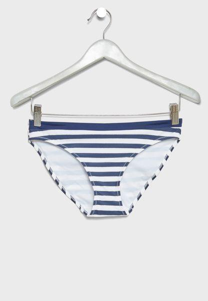 Striped Bikini Bottom