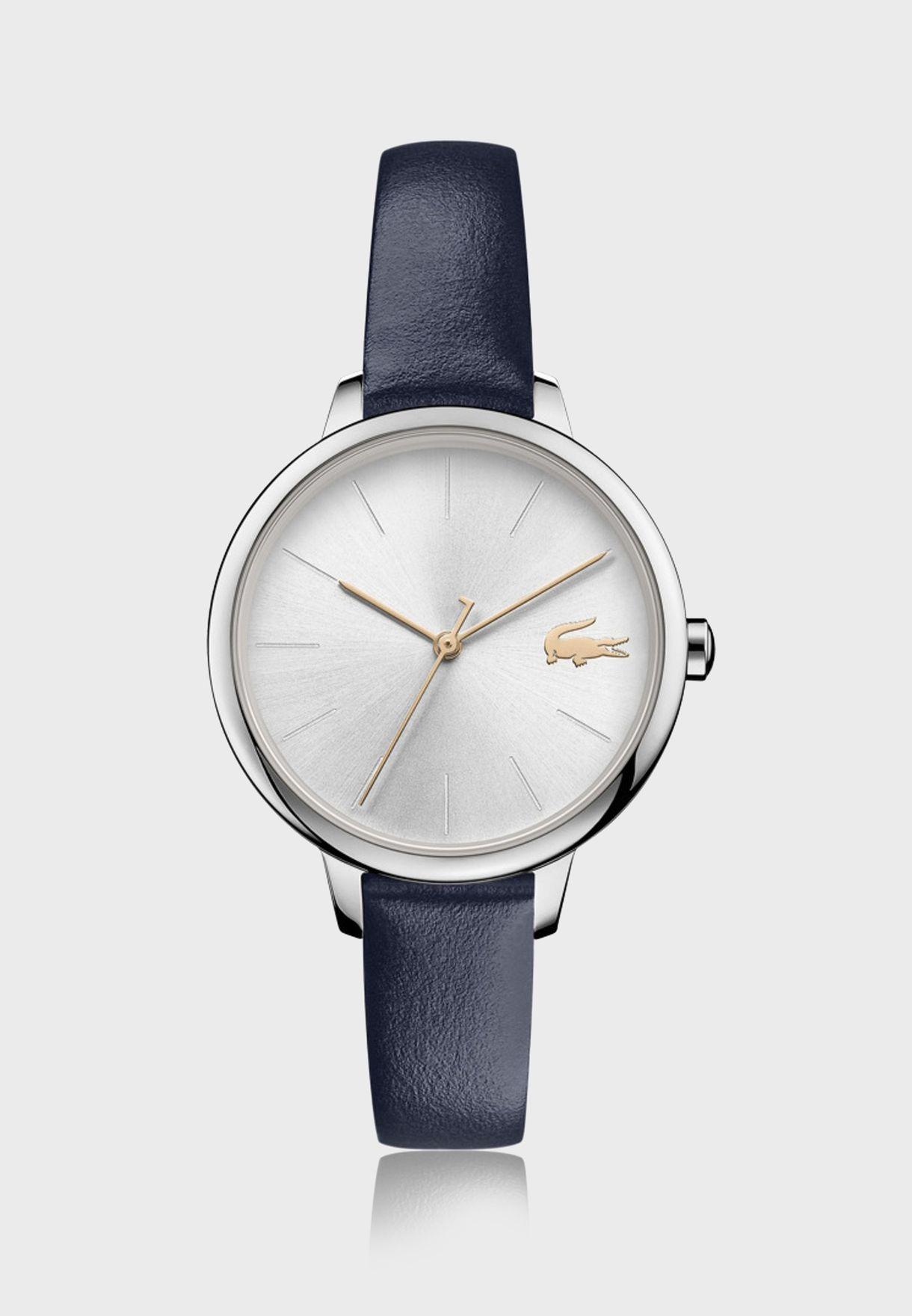 ساعة لاكوست كان للنساء بسوار جلدي - 2001100