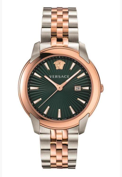 ساعة فيرساتشي اوربان بسوار ستانلس ستيل للرجال - VELQ00619