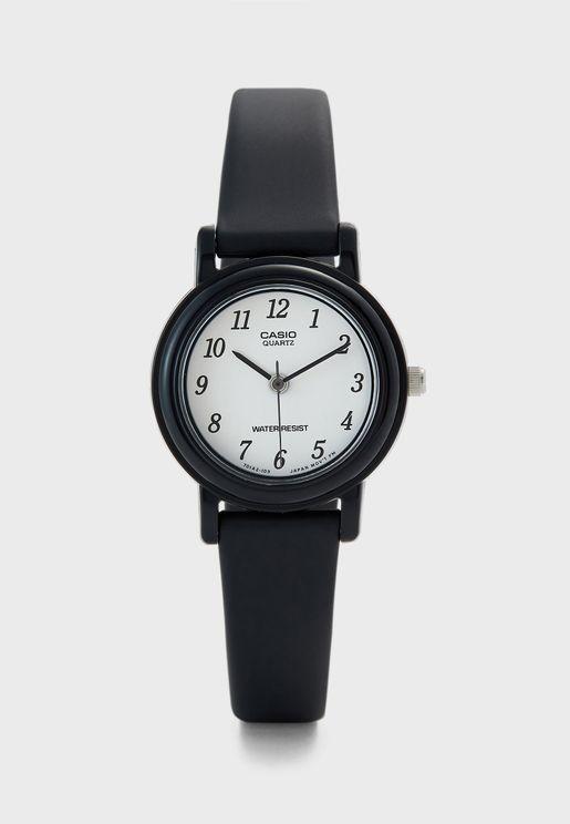 ساعة يد أنالوج