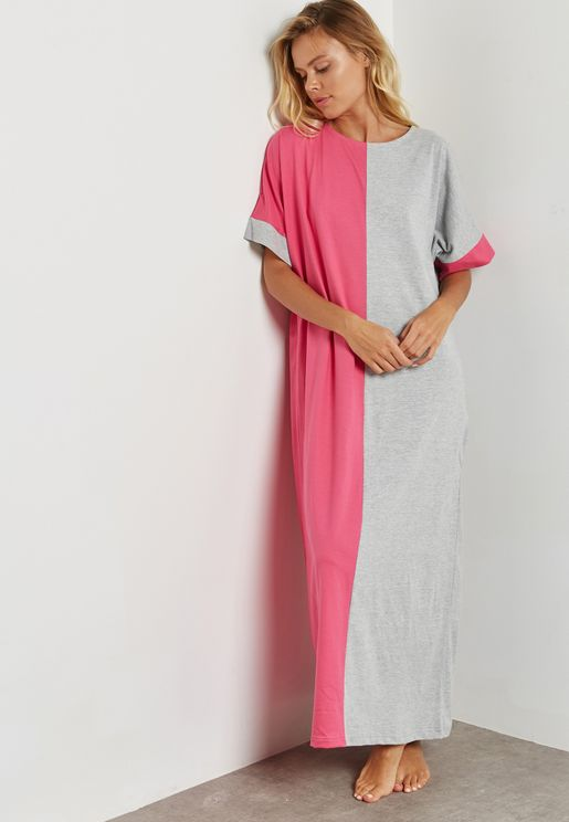 Colourblock Nightdress