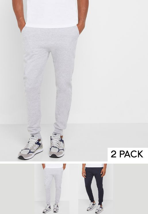 2 Pack Cuffed Sweatpants
