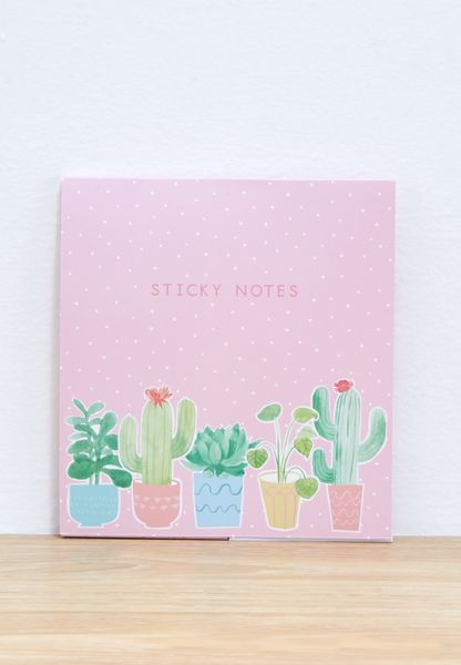 Cactus Sticky Note Set