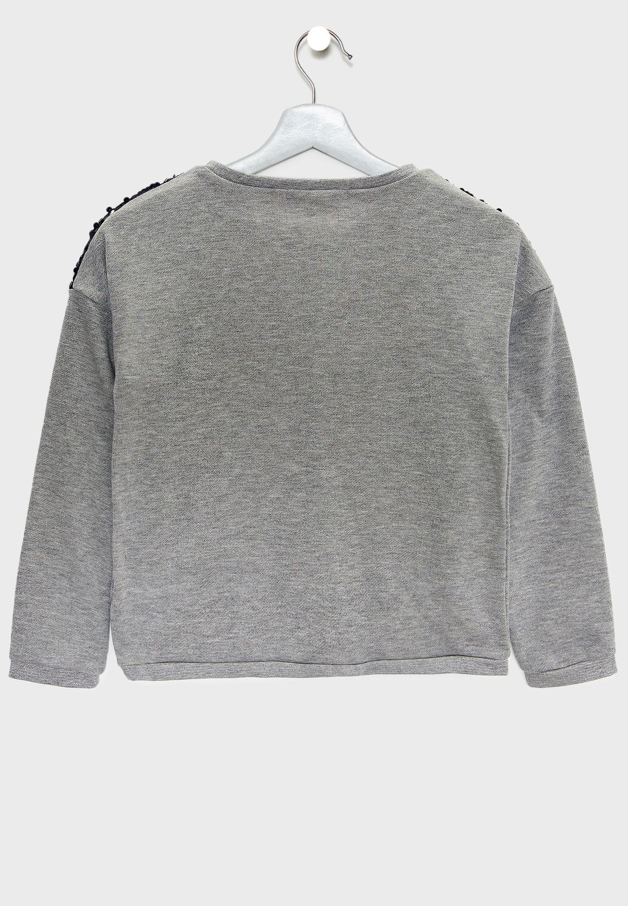 Teen Sequin Sweater