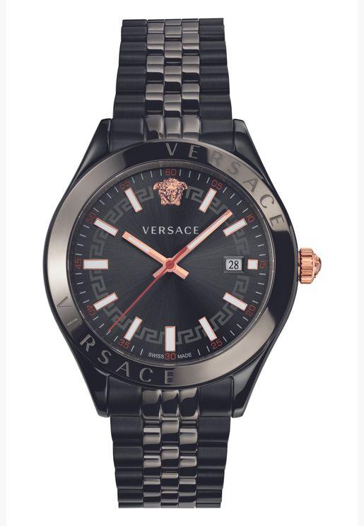 ساعة فيرساتشي هيلينيوم من الستانلس ستيل للرجال - VEVK00320