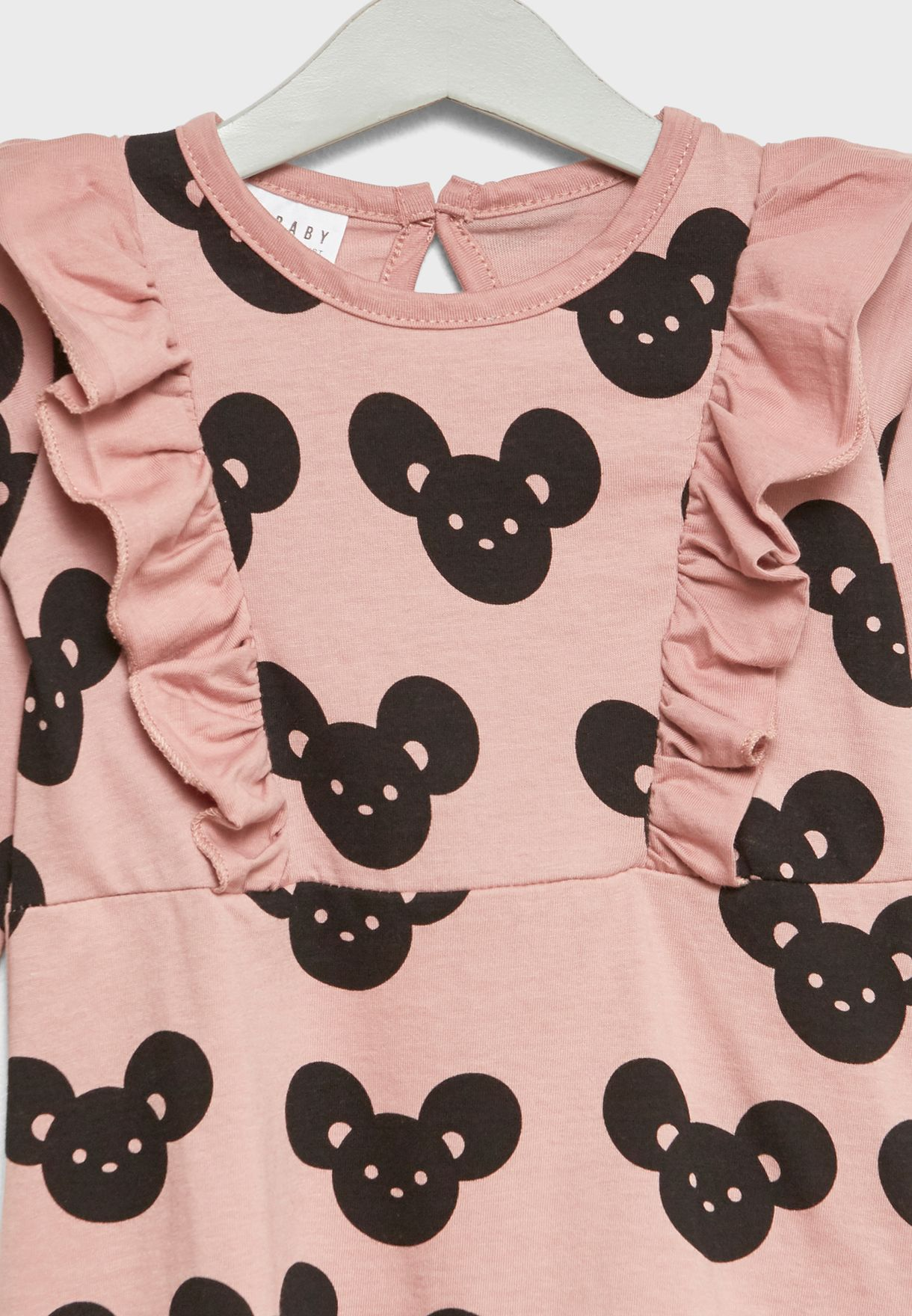 Little Mouse Print Dress