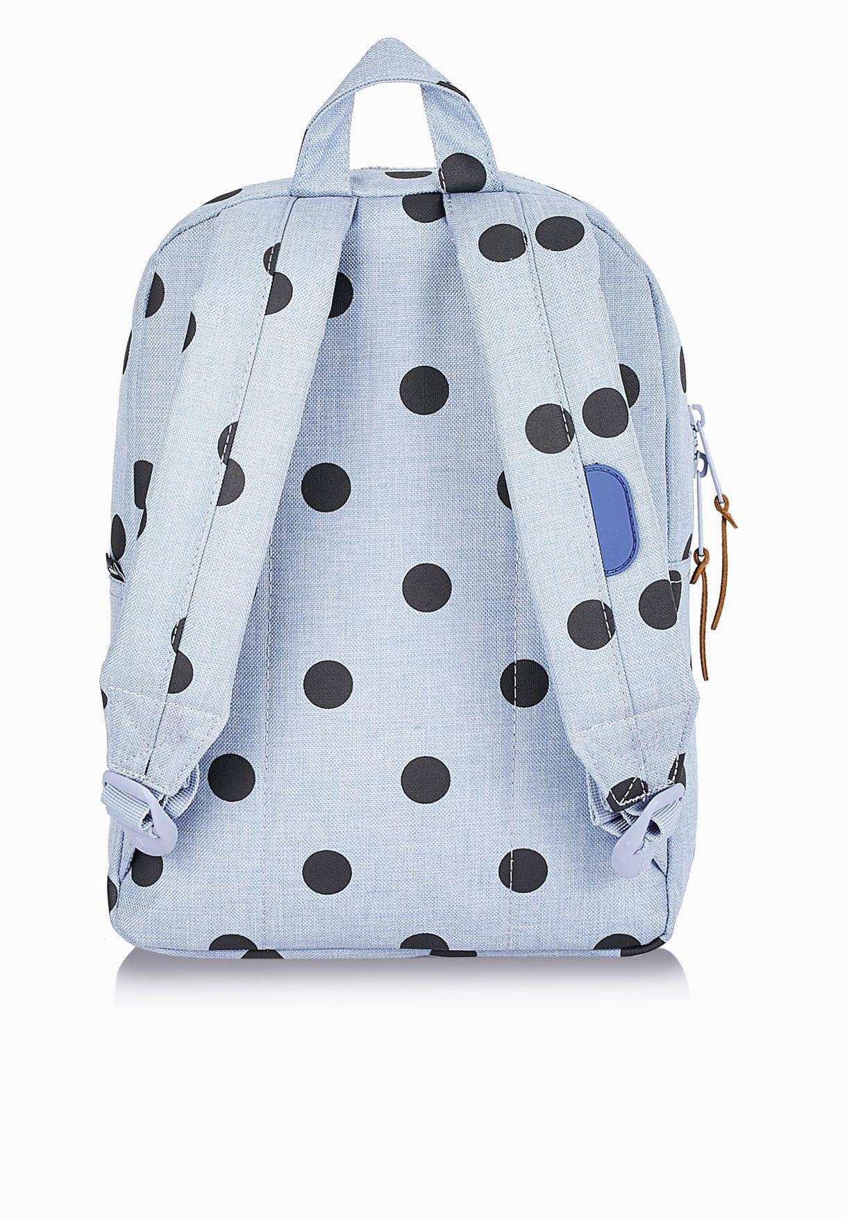 Shop Herschel blue Small Settlement Backpack for Kids in Oman ... 0a848598e5f6d