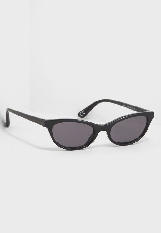 Mini Frame Cateye Sunglasses