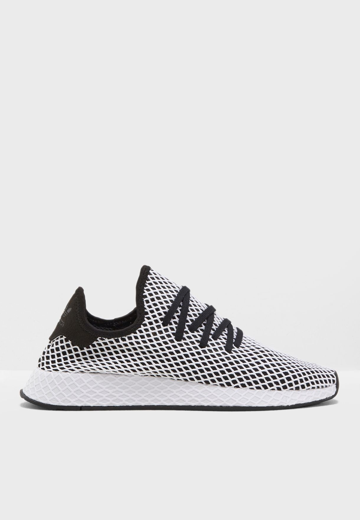 new arrival 229a2 67768 Shop adidas Originals black Deerupt Runner CQ2626 for Men in