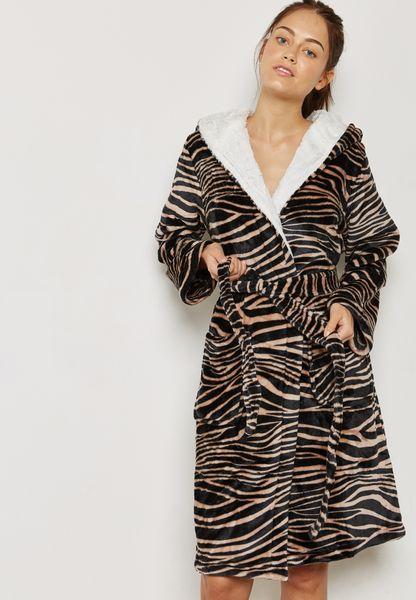 Animal Printed Robe