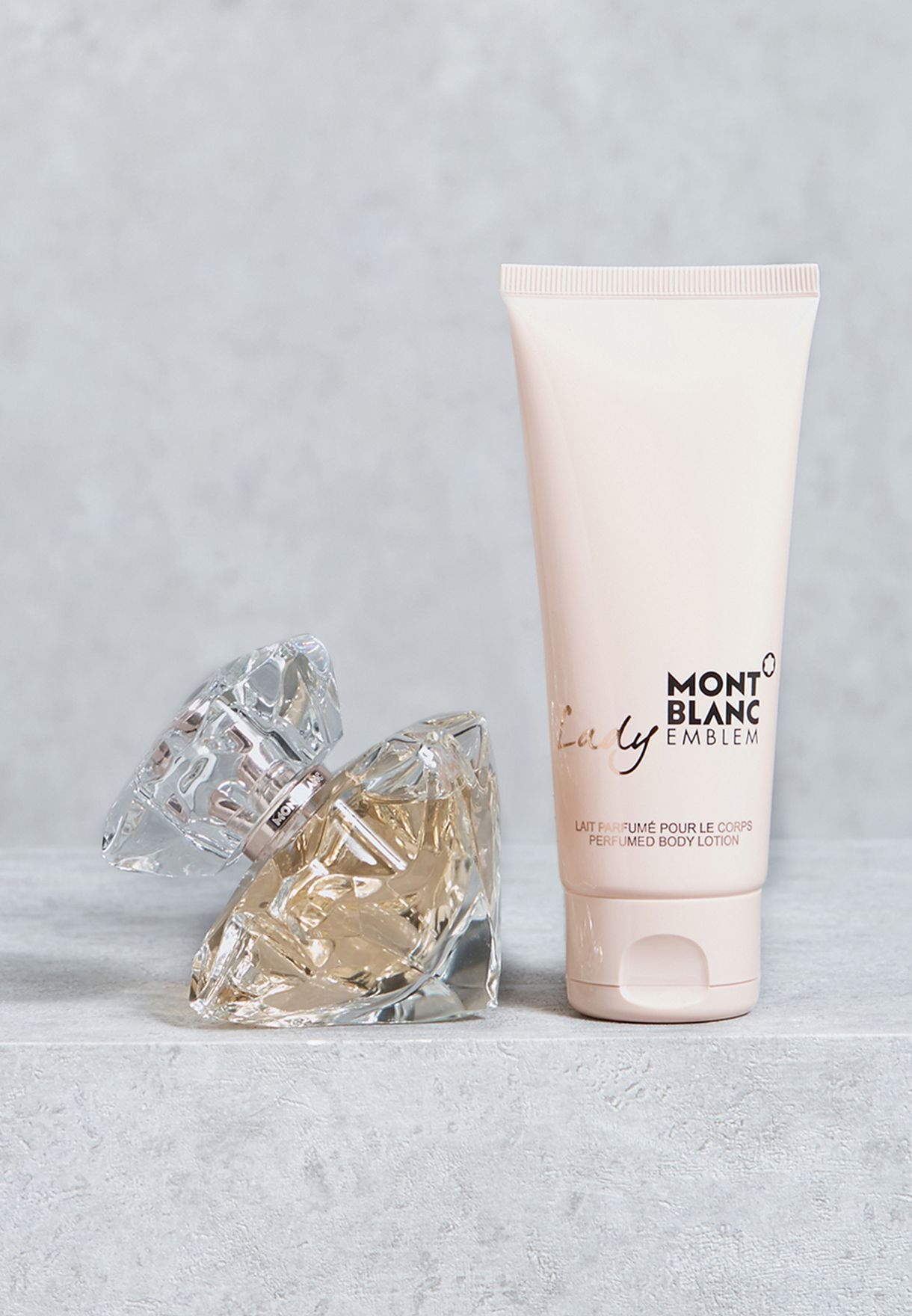 c6ed7c217 Shop Mont Blanc clear Lady Emblem 50ml EDP +100ml Body Lotion Set ...