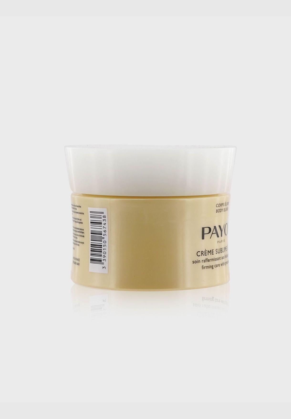 زيوت نفيسة لشد البشرة Body Elixir Crème Sublime