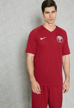 تيشيرت بشعار الاتحاد القطري لكرة القدم
