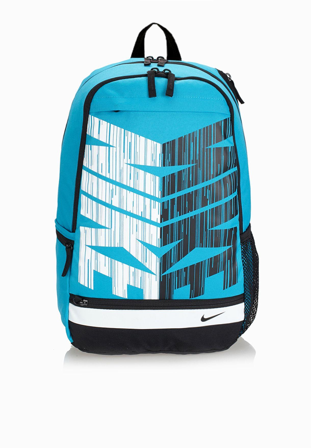 fuga inyectar Engaño  Buy Nike blue Classic Line Backpack for Kids in MENA, Worldwide | BA4862-401