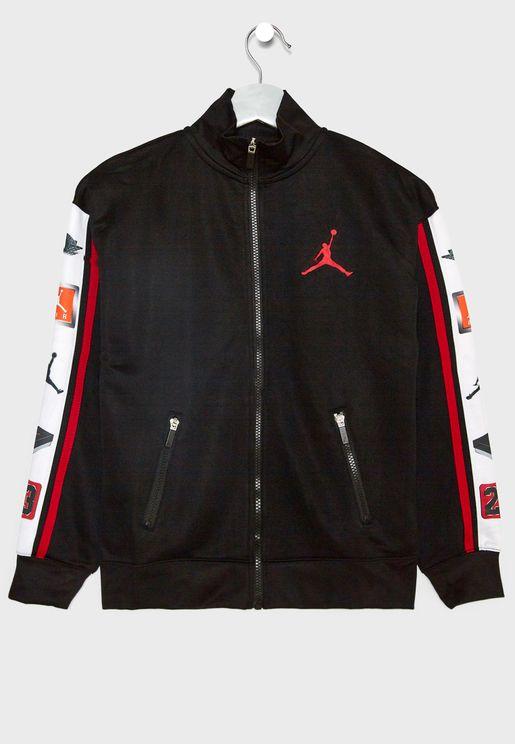 Kids Jordan Celebrity Track Jacket